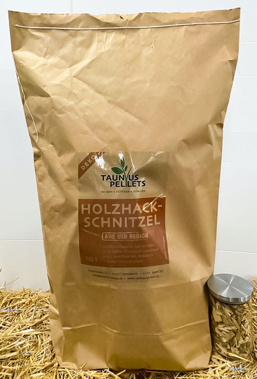 Holzhackschnitzel Taunuspellets